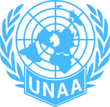 United Nations Association of Australia Victoria (Young Professionals) logo