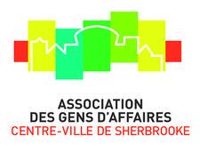 Association des gens d'affaires du centre-ville de Sherbrooke (AGACVS) logo