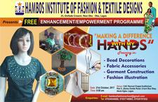 HAMBOS INSTITUTE OF FASHION AND TEXTILE DESIGNS logo