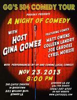 GG's 504 Comedy Hour/Sat. Nov. 23