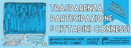 Trasparenza, partecipazione e cittadini connessi