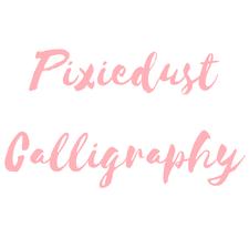 Pixiedust Calligraphy logo