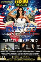 Indepen-DANCE Day at TekilaRock w Salsa and Bachata Rooms!