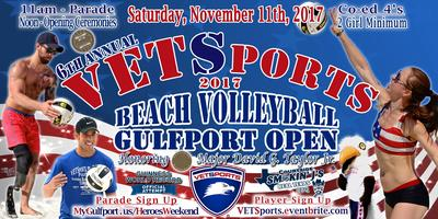 6th Annual VETSports Beach Volleyball Gulfport Open