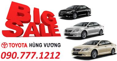 Toyota Hung Vuong - khuyến mãi lớn tại Ho Chi Minh