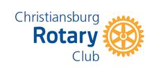 Rotary Christiansburg Club logo