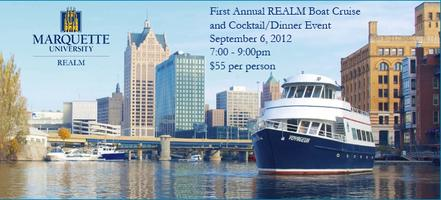 REALM Boat Cruise and Cocktail/Dinner Event