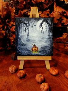 Halloween Haunted Paint Parties logo