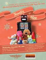 8th Annual Naughty or Nice Toys for Tots Fundraiser