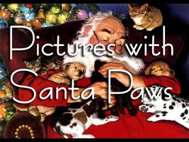 Pictures with Santa Paws
