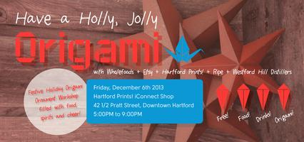 Have a Holly, Jolly Origami