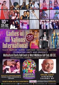 Ladies of All Nations International logo