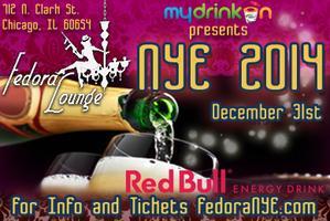 Fedora Lounge NYE 2014