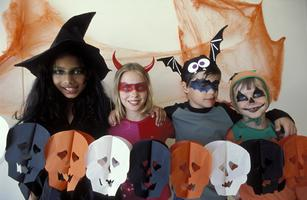 Healthy Halloween Trick-Or-Treat Party