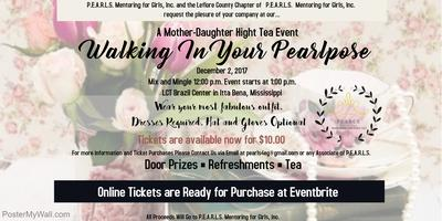 Walking In Your Pearlpose: A Mother Daughter Tea Event