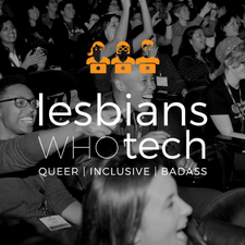 Lesbians Who Tech and Allies logo
