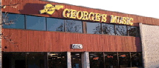 George's Music, Inc. logo