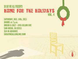 """So Say We All presents """"Home for the Holidays Vol.4"""""""