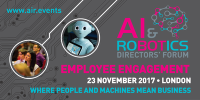 AI & Robotics Directors' Forum - EMPLOYEE ENGAGEMENT