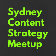 Sydney Content Strategy Meetup logo