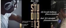 DJ Latenight(Soundscramble) DJ Gerald Anthony(HousesJunkies) logo
