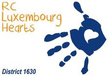 Rotary Club Luxembourg Hearts logo