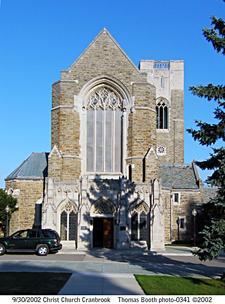 Christ Church Cranbrook logo