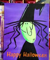 Kids Halloween Paint (8-12 Yr Olds)