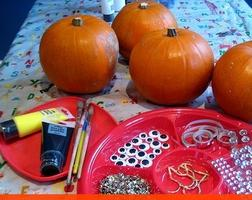 2nd Annual Family Pumpkin Painting!