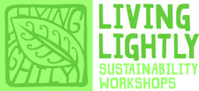 Living Lightly the Sustainable Living Program of Coffs Harbour City Council logo