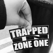 Trapped in Zone One logo