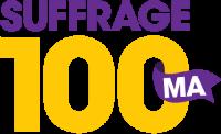 The Women's Suffrage Celebration Coalition of Massachusetts (WSCC) logo