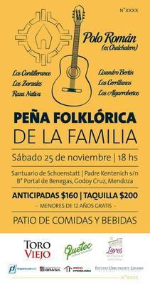 PEÑA FOLKLÓRICA DE LA FAMILIA logo