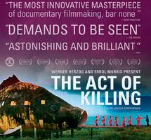 THE ACT OF KILLING (THURS  12/5 at 9PM)
