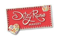 Ditzy Rose Makery logo