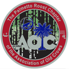 Palmetto Roost Chapter of the AOC logo