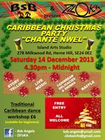 Gwoka Dance Workshop - Christmas Party 2013