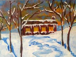 Sip n' Paint Cozy Cabin: Saturday January 4th, 7:30pm