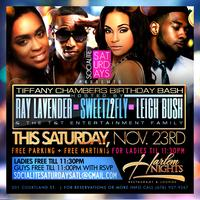 Ray Lavender and Sammie Saturday at Harlem Nights