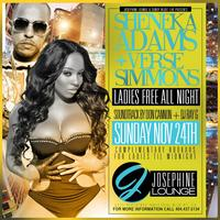 Sheneka Adams and Verse Simmonds Sunday Ladies Free all...