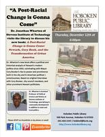 """A Post-Racial Change Is Gonna Come"" Author Talk with Dr...."