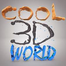 Cool 3D World logo