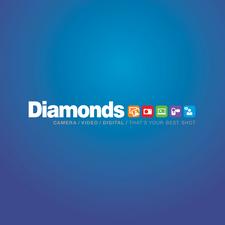 Diamonds Camera, Video, Digital logo