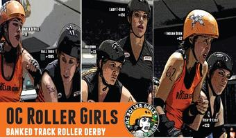OC Roller Girls vs. LA Derby Dolls (Fight Crew) Banked...