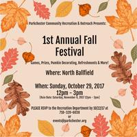 1st Annual Parkchester Fall Harvest