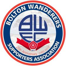 The Bolton Wanderers Supporters Association (MyBWSA)  logo