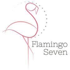 Flamingo Seven for Hello Again Markets logo