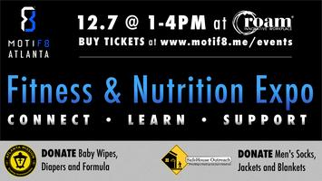 MOTIF8 ATLANTA: Fitness & Nutrition Expo + Non-Profit...