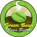 The Green Bean Java Bistro logo