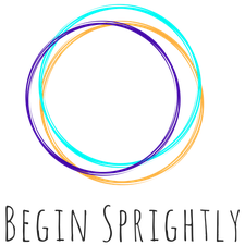 Begin Sprightly logo
